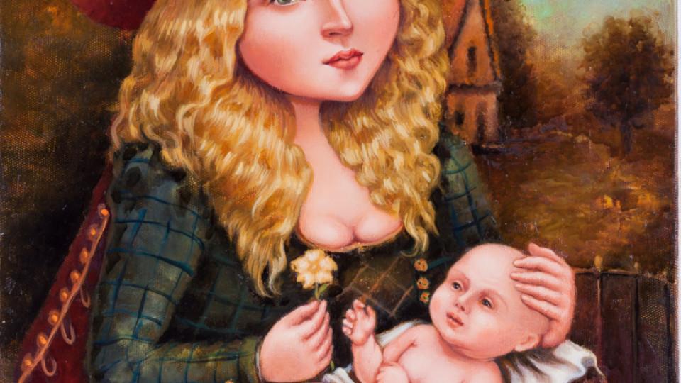 Madonna con Fiore. 50х60 см (2016 р.)